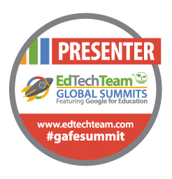 EdTechTeam GAFESummit Presenter