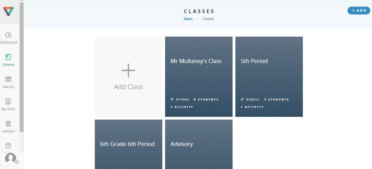 Adding Classes