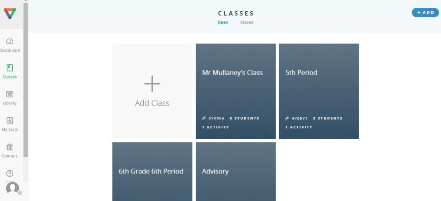 Adding Classes
