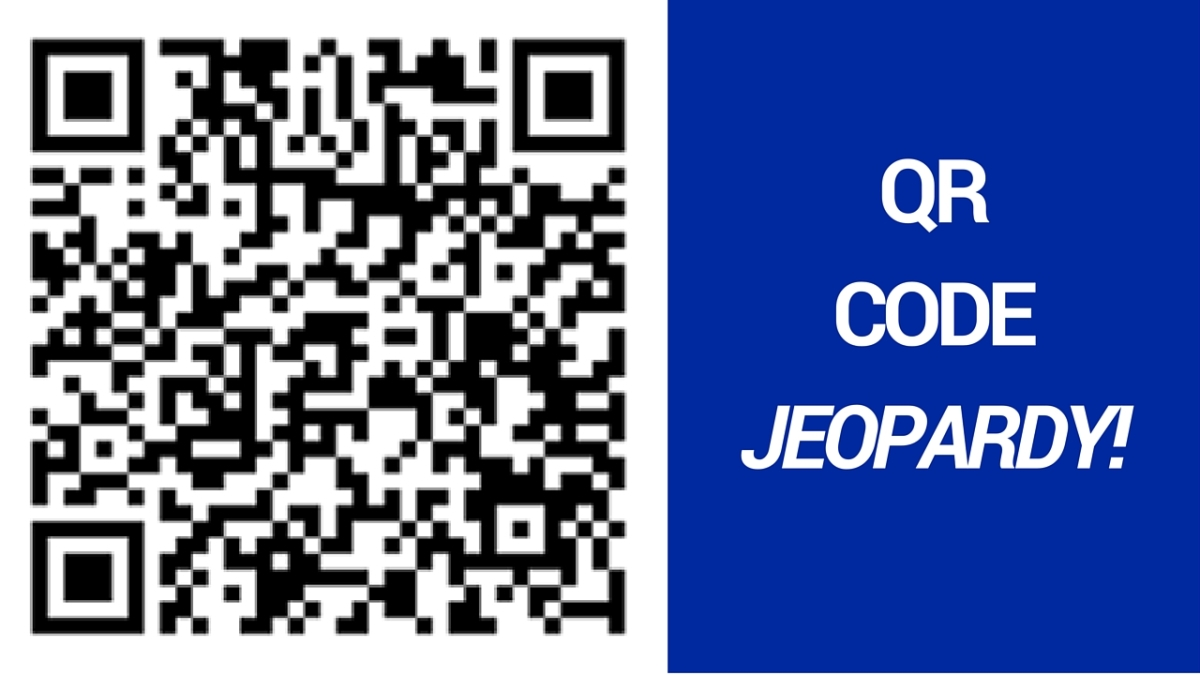 Jeopardy QR Codes