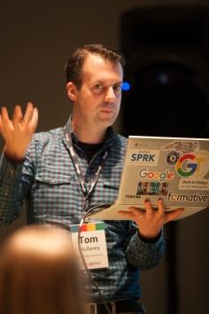 Tom Presenting at North Carolina Googlefest 2016