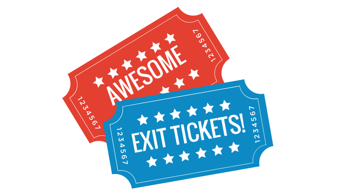 Make Awesome Exit Tickets With Digital Breakouts