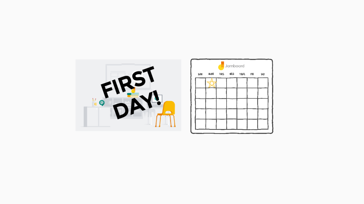 First Day of Google Jamboard