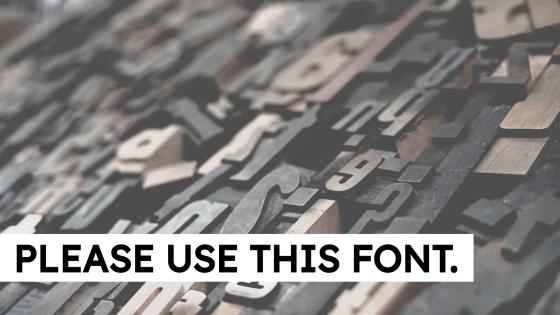Wood typesetting blocks.