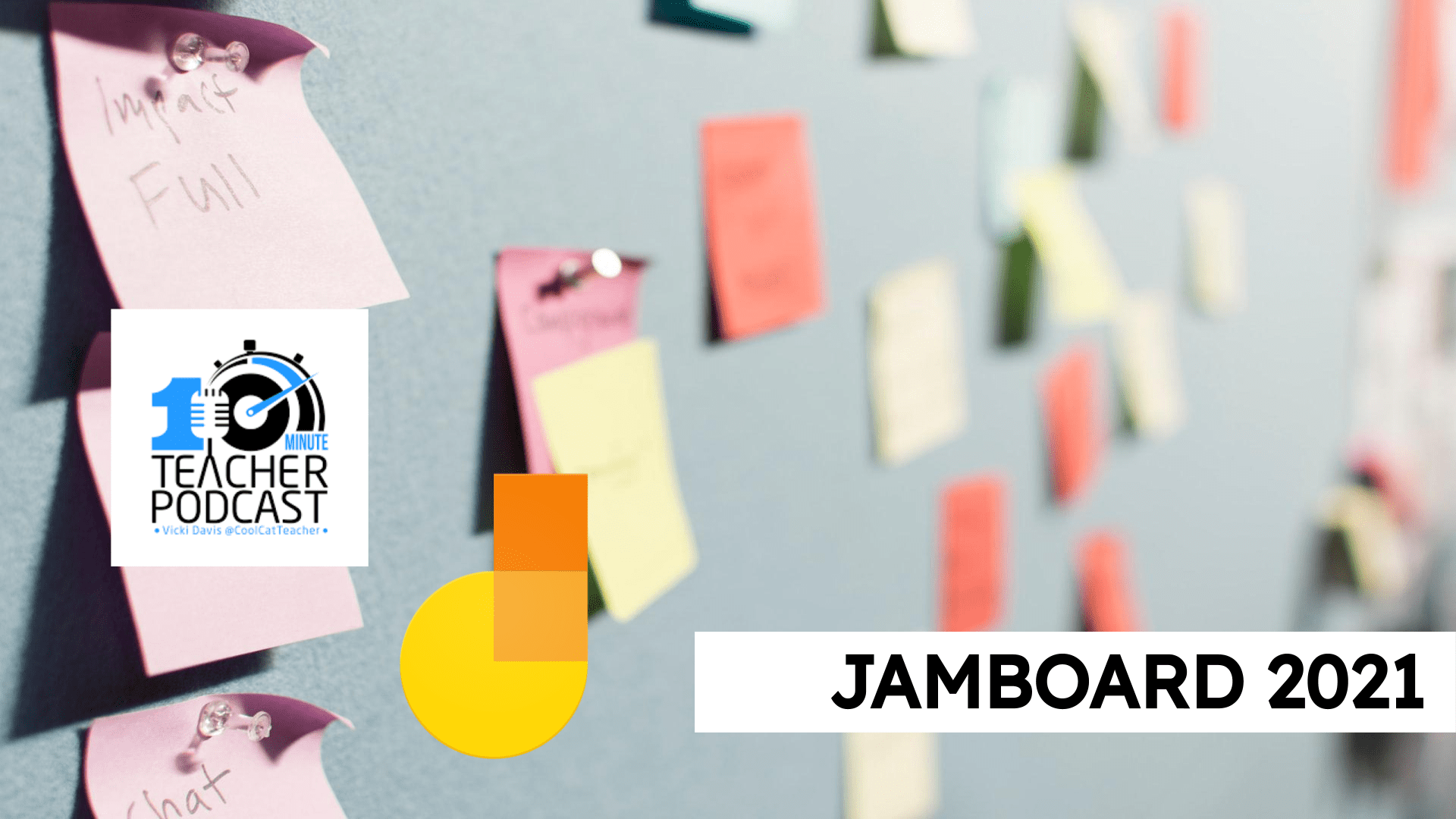 Jamboard on the 10 Minute Teacher podcast